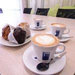 Coffee and Muffins served at the Broadacres Business Cafe