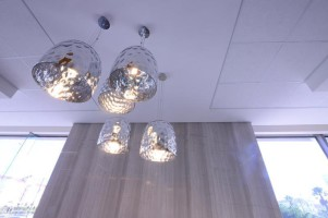 Light fittings at TBC Century City