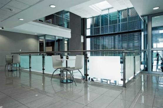 The interior view of Fourways Business Centre