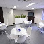 Seating area at Business Cafe at the Rivonia Business Centre 2