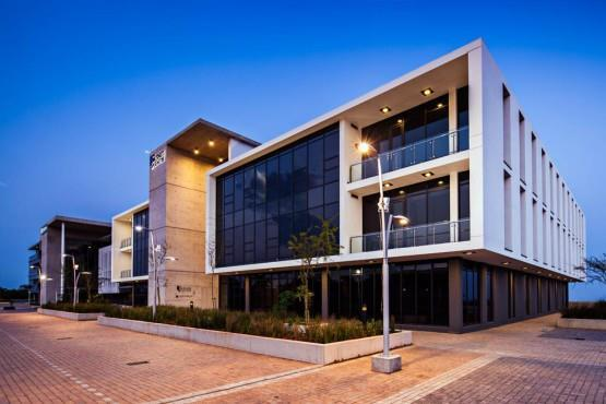 Night time Exterior at The Umhlanga Business Centre