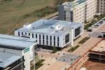 Front Entrance Aerial view of Umhlanga Business Centre