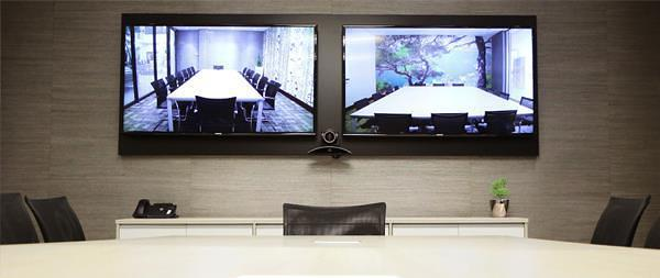 Video Conferencing in South Africa 2 Screens