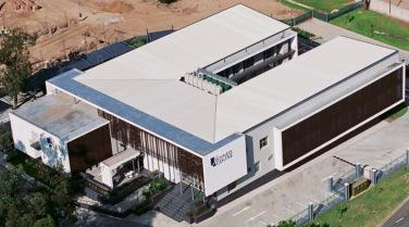 Birds eye view of Broadacres Business Centre