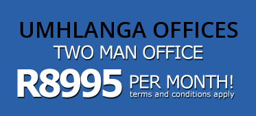 Need office space to rent in umhlanga, View our specials