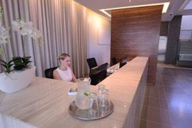 The Business Centres offices come complete with Reception Services
