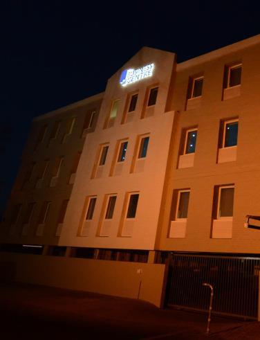 The Rivonia Business Centre at night, Exterior view