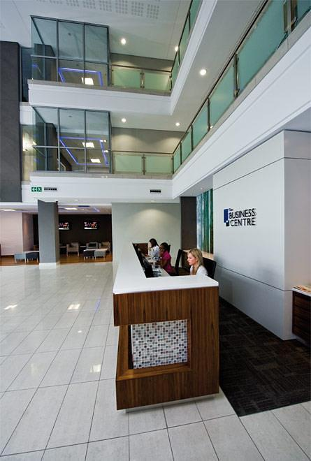Entrance Desk to Fourways Business Centre